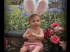 Child in Bunny Ears